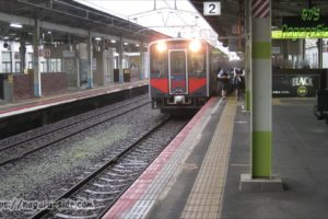 ラッシュタイムの松江駅