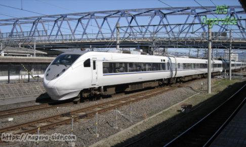 米原駅に到着する名古屋行きしらさぎ