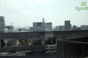 鳥取駅東側で山陰本線と因美線が分岐