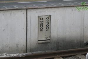 高松駅のキロポスト