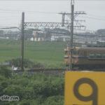 関西本線から望む近鉄名古屋線