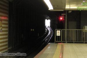 加島駅から尼崎方面を望む