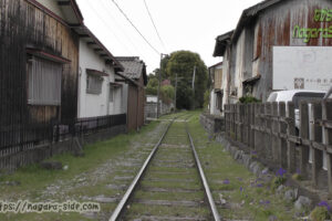 西濃鉄道市橋線赤坂本町駅跡
