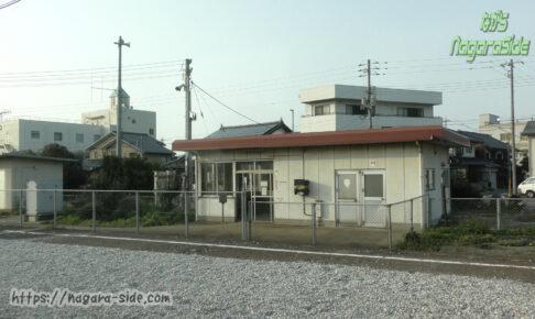 山陰本線下北条駅の駅舎