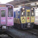 松江駅で並ぶキハ187系とキハ126系