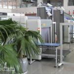 中国人民鉄路の手荷物検査