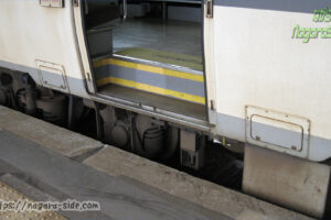 芸備線三次駅のドアとホームの段差