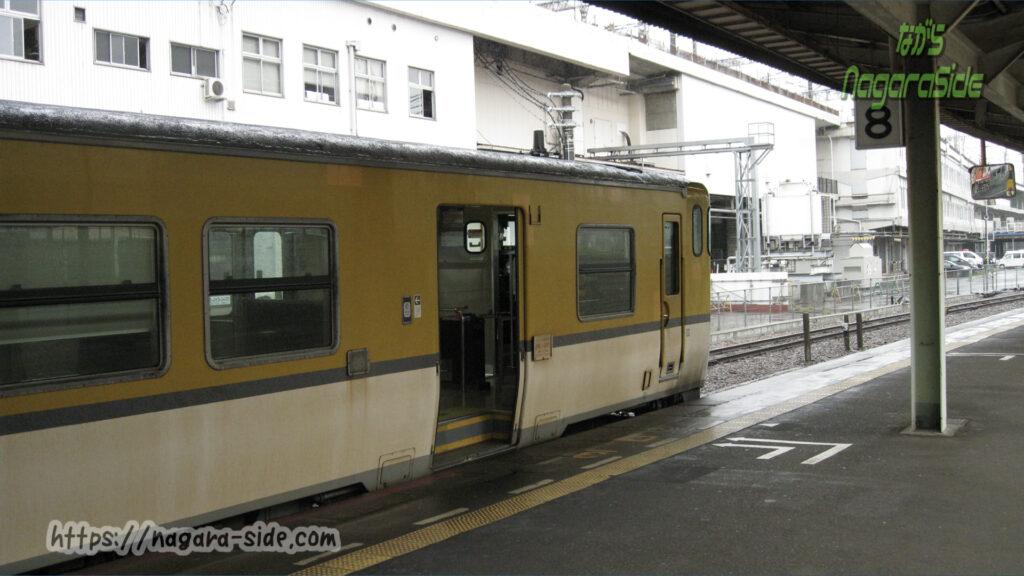 芸備線広島駅のドアとホームの段差