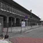 東海道新幹線岐阜羽島駅の高架下駐車場