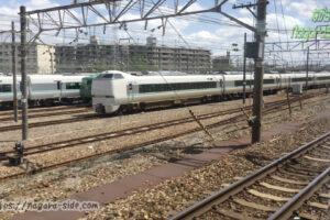 吹田総合車両所京都支所に留置される車両たち