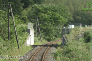 旧三江線にあった陸閘