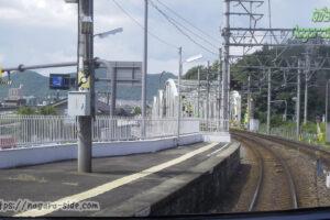 犬山遊園駅から望む犬山橋