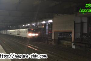 大井駅を通過するムーンライトながら