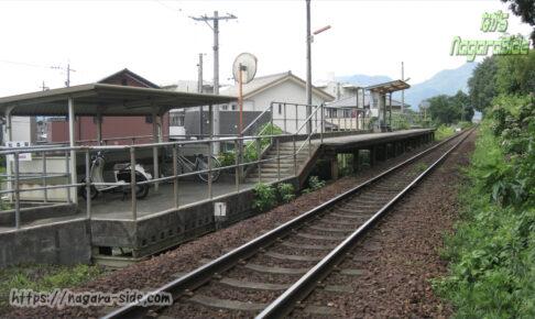 長良川鉄道越美南線松森駅